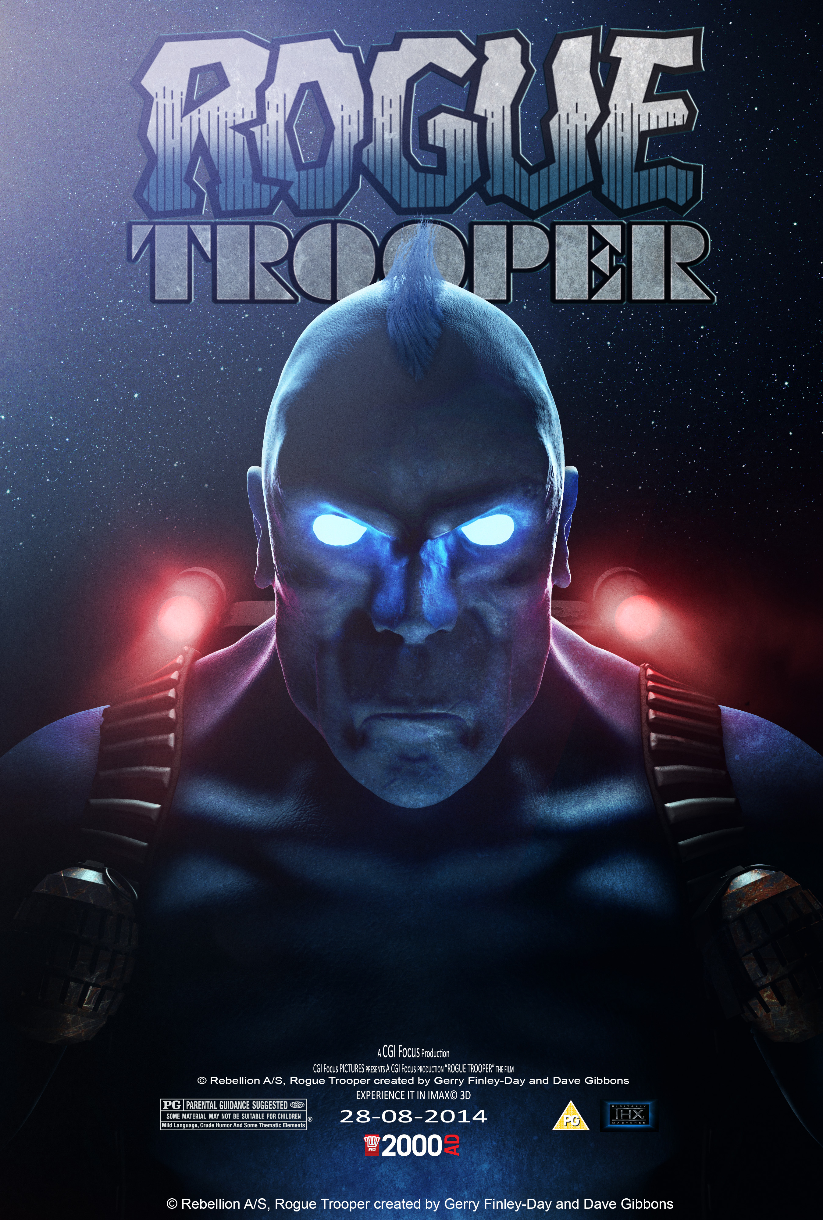 Rogue Trooper Film Poster Competition